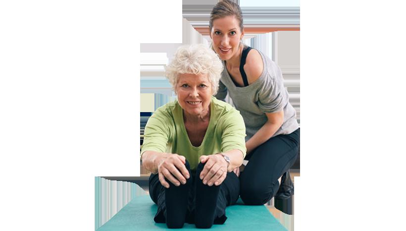 Grupos especiales para personas mayores